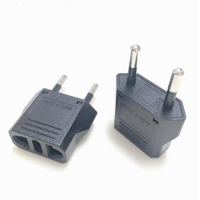 1 Pcs Eu Europese Kr Plug Adapter China Japan Ons Eu Travel Power Adapter Stekker Converter Charger Socket ac Outlet