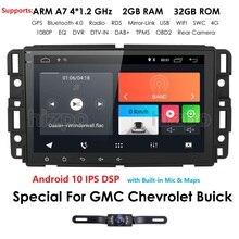 Android 10 Auto Multimedia Speler Radio Voor Gmc Chevrolet Chevy Yukon Tahoe Sierra Acadia Suburban Automotivo Gps Navigatie 2 + 32
