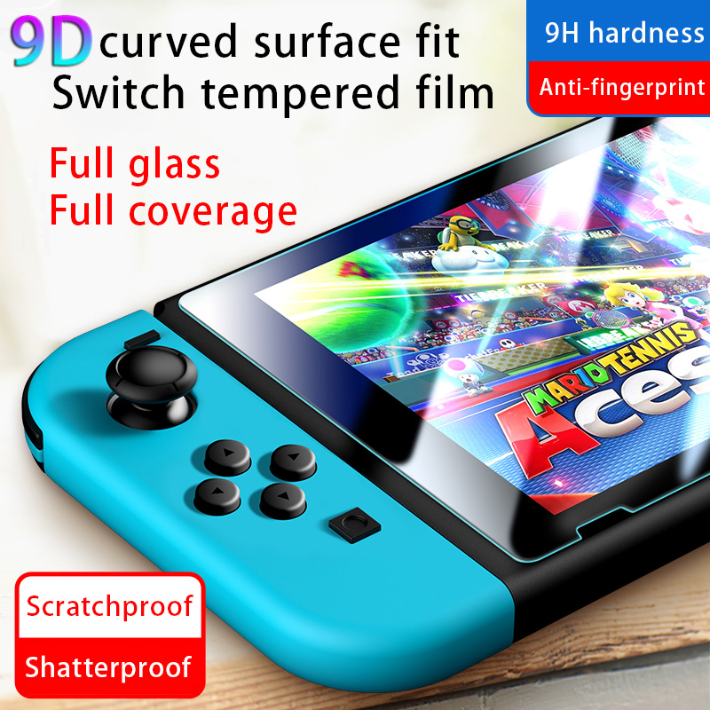 For Nintendo Switch Screen Glass Scratch Protection Film NS HD Film NX Glass Film