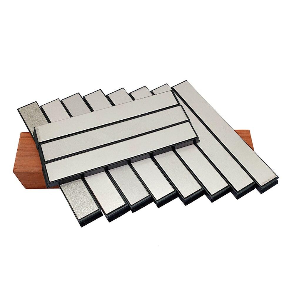 11pcs set Diamond Hone stone Bar knife sharpener Ruixin pro sharpening diamond whetstone oil honing stones|Abrasive Tools| |  - title=