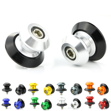 For Triumph Daytona 600 650 675R 675 750 Motorcycle Accessories Alumnium Swing Arm Spools Sliders Stand Bobbins
