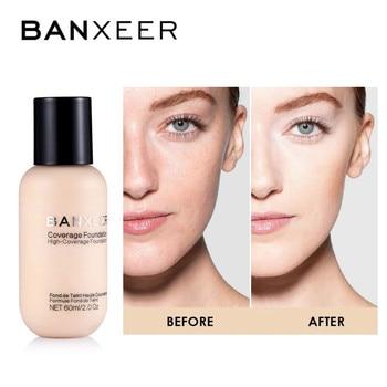 Foundation Waterproof Drop Foundation Liquid Faces Makeup Oil control Concealer Cosmetics Matte Foundation Velvet Texture