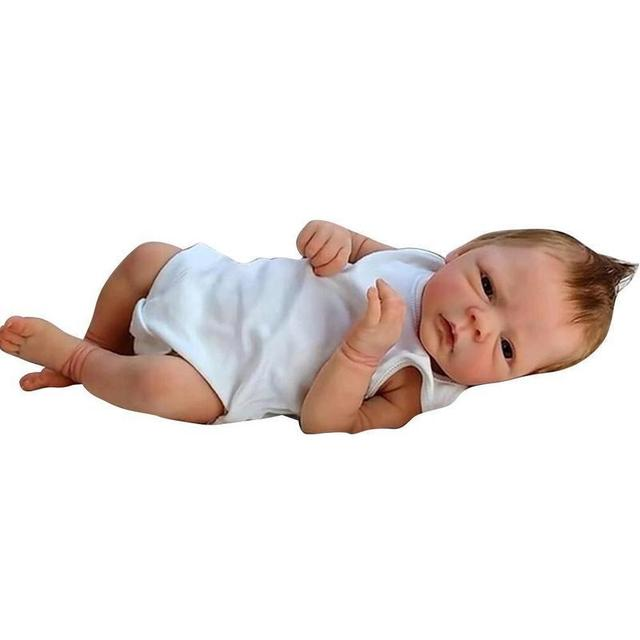 27cm/46cm Baby Dolls Reborn Bebe Toys Lifelike Newborn Cute Silicone Body Doll Toy Gifts for Children Christmas Surprise Gift 2