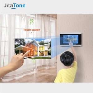 Image 5 - 터치 스크린 유선 와이파이 IP 비디오 도어 폰 인터폰 비디오 초인종 빌라 아파트 액세스 제어 시스템 모션 감지