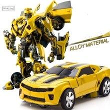 Robot de transformación WJ M03 Battle Blades MPM03 Bee Warrior MP21 aleación Anime figura de acción modelo niños juguetes colección