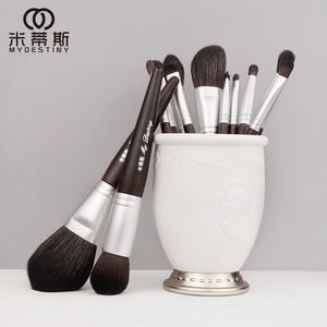 Image 1 - MyDestiny makeup brush black charm 13pcs animal hair brushes set for foundation blush powder eyeshadow etc   The Master Series