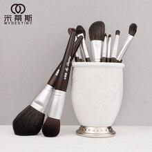 Mydestiny Makeup Brush Black Charm 13Pcs Dierlijk Haar Borstels Set Voor Foundation Blush Poeder Oogschaduw Etc De master Series