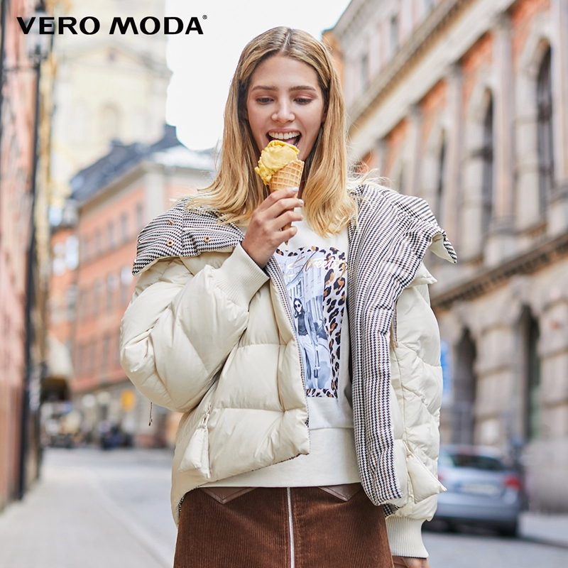 Vero Moda Women's Double-faced Hooded Down Jacket | 319423522