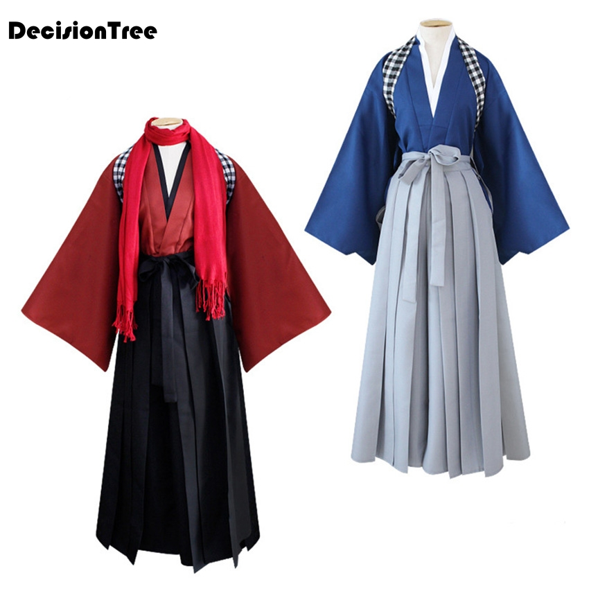 2019 The Sword Dance Kimono Traditional Japanese Style Asian Clothes Robe Role Play Dress Haori Fancy Disguise Women Men Costume