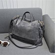 DIDA BEAR women handbag PU leather tote bag Retro shoulder messenger bags Tote Shopping bag green gray blue red Femme Sac a Main