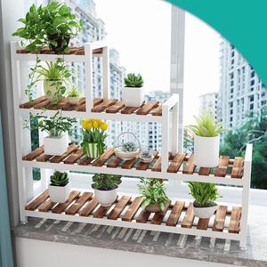 Image 3 - Vaso de plantas plantenrekken stojaki soporte plantas interior estande varanda flor dekoration stojak na prateleira da planta kwiaty