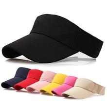 New Fashion Men Women Sport Headband Classic Adjustable Sun Sports Visor Hat Cap Baseball Cap casquette Wholesale Free Ship