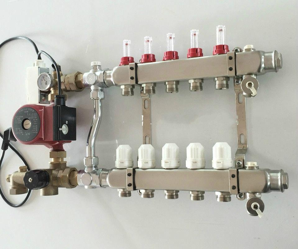 Pompa di Riscaldamento a Pavimento Collettore 5 Port & Nominale per Camera  Radiante per 1/2 Pex pump for pump pumppump heating - AliExpress