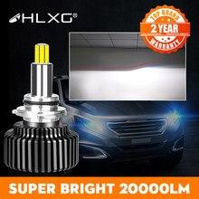 360 H4 H11 LED 9012 HIR2 H7 H1 H8 HB3 9005 20000LM HB4 9006 Levou Farol Do Carro 6000K luz de Nevoeiro hlxg nebbia 12V luces levou para auto