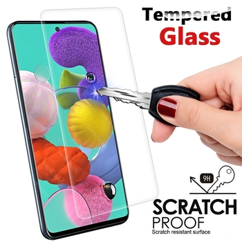 Thin Tempered Glass For Samsung Galaxy A71 A51 A50S A30S S10e A10 A70 A40 A20 A80 A90 A60 A7 2018 A30 A50 9H HD Screen Protector