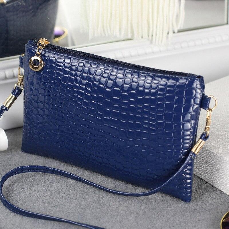 New Women Bag Fashion Shoulder Bag Lady Messenger Bag Clutch Korean Casual Crocodile Pattern Pouch Crossbody Bag