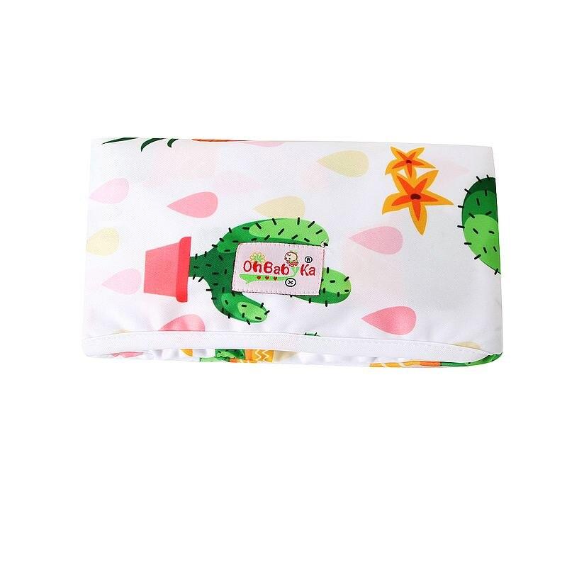 Новые 3 в 1 Водонепроницаемый пеленальный коврик пеленки мнчества, Портативный чехол для детских подгузников коврик чистой ручной складной сумка из узорчатой ткани - Цвет: HND06