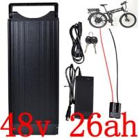 48V 1000W 2000W Ebike akku 48V 25AH Elektrische Fahrrad Batterie 48V 20AH 23AH 26AH lithium-ion batterie verwenden panasonic zelle