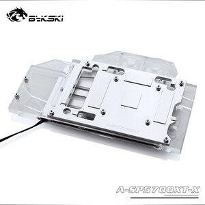 Image 5 - Bykski A SP5700XT X GPU Blocco di Raffreddamento Ad Acqua Per Sapphire RX 5700 XT di Impulso, MSI RX5700XT Mech/Evoke Dataland RX5700XT Diavolo Rosso