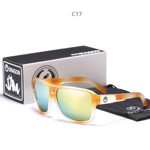 Image 4 - 미러 렌즈 남자 드래곤 브랜드 디자인 운전 낚시 태양 안경 스퀘어 안경 남자 uv400 여름 음영 안경