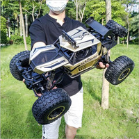 1:8 50CM 4WD RC Car Updated Version 2.4G Remote control Buggy 2020 high speed Bigfoot Trucks Off-Road jeeps Toys for Children