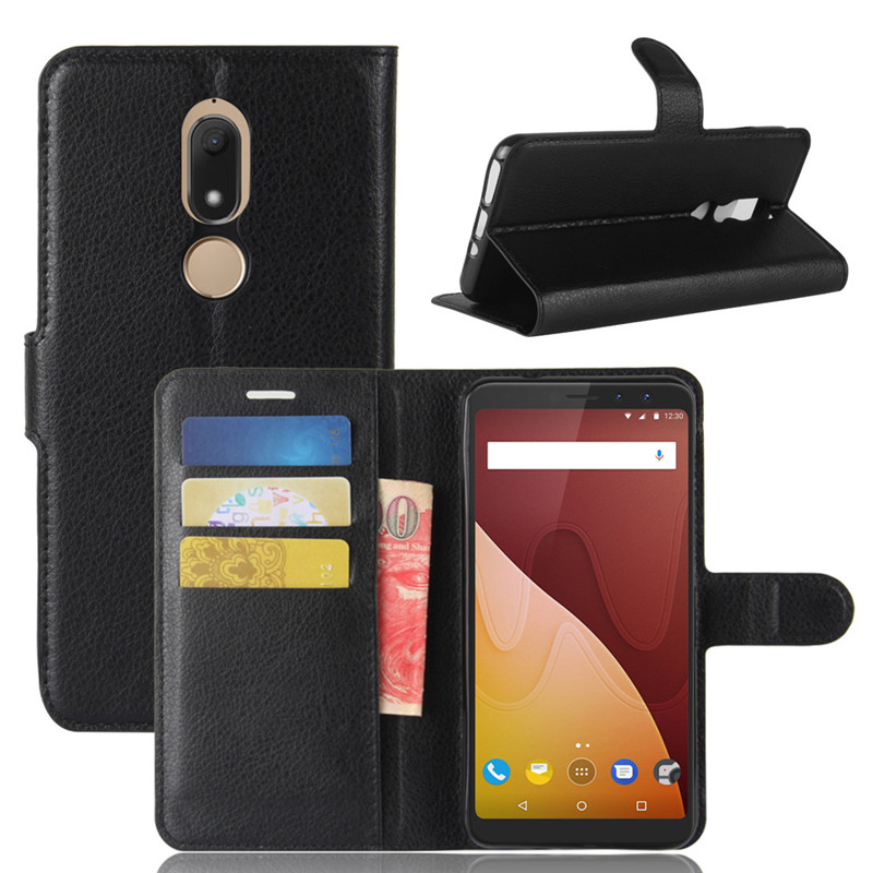 Wiko View Prime Case Wiko View Prime Cover 5.7 inch Luxury Wallet PU Leather Phone Case For Wiko View Prime Flip Back Cover Bag