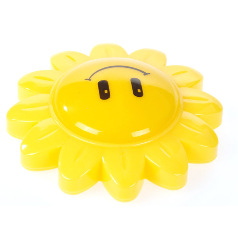 NEW Arrival Creative Sunflower Removable Cartoon Wall Mounted Light For Children Kids' Bedroom