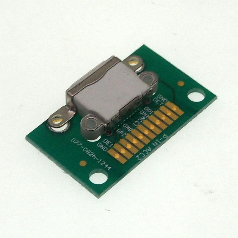 5pcs For IPhone 5/6/7/8 Female Socket With PCB Board Data Test Stand
