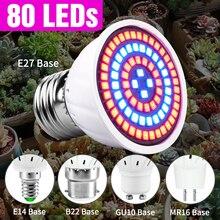 Grow-Lamp Lights-Plants E27-Hydroponic-System Indoor-Lighting LED Full-Spectrum 220V