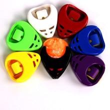Pick-Box Guitar-Accessories Plectrum-Case-Parts Triangle Durable 1PC Abs-Plastic Useful