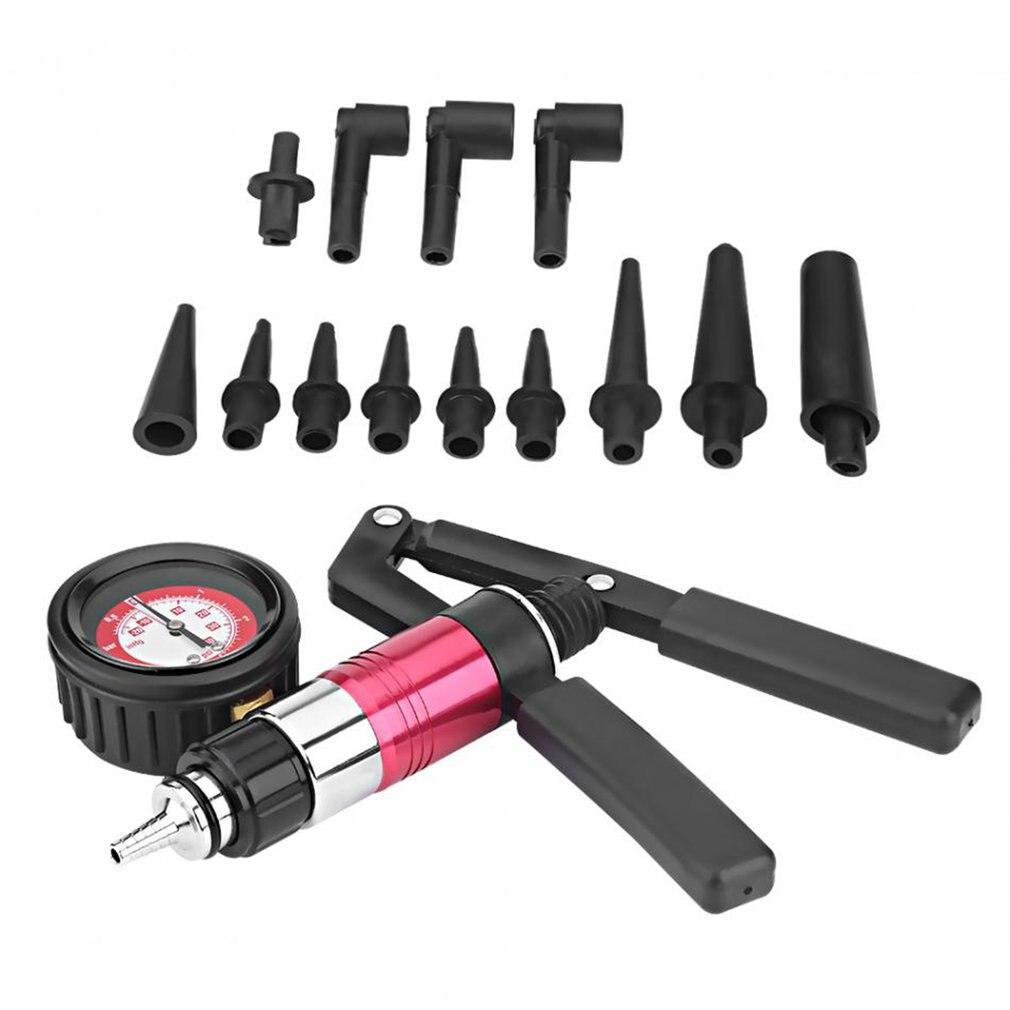 Multifunktionale Hand Vakuum und Druck Pumpe Tester Kit Bremsentlüftungs Komplette Set für Auto test fahrzeug einstellungen