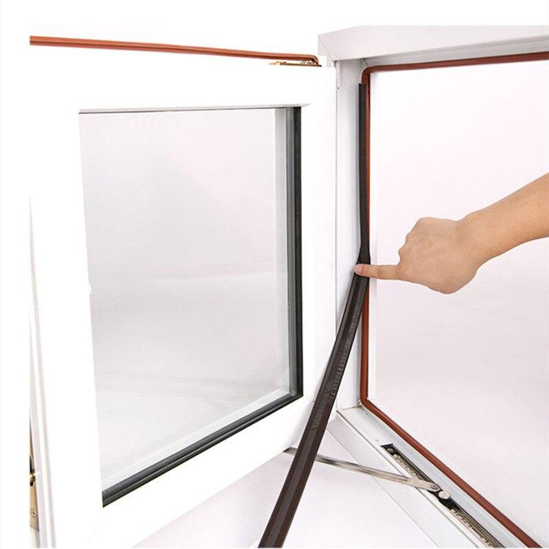 2m auto adesivo tira de vedação da janela à prova de vento som acústico espuma vedação fita para porta deslizante gap filler janela ferragem