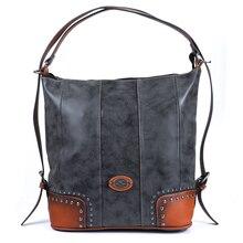 2019 kobiet w stylu Vintage luksusowe oryginalne skórzane torby dla kobiet o dużej pojemności torba damska torby duża torba na ramię torebki i torebki