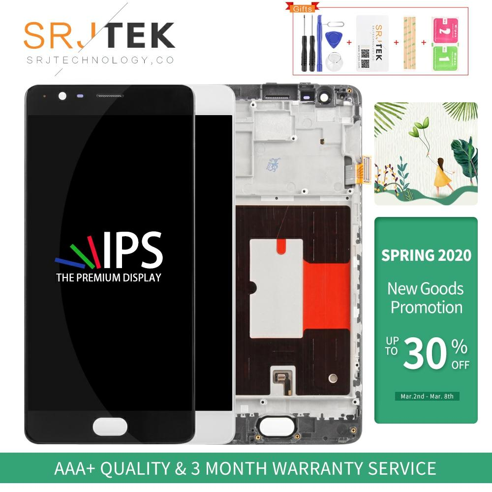 TFT/AMOLED Lcd For Oneplus 3T Display A3010 LCD Touch Screen Digitizer Panel Glass Assembly For One Plus 3 LCD Three 1+3