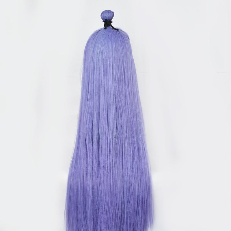 Купить косплей смешанные голубоватые фиолетовые волосы красота заостренный