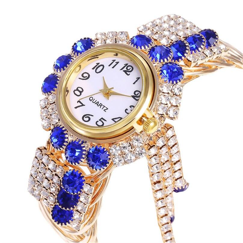 Khorasan Luxury Alloy Fashion Casual Women Watch Creative Fringe Quartz Bracelet Watches 3D13 (4)