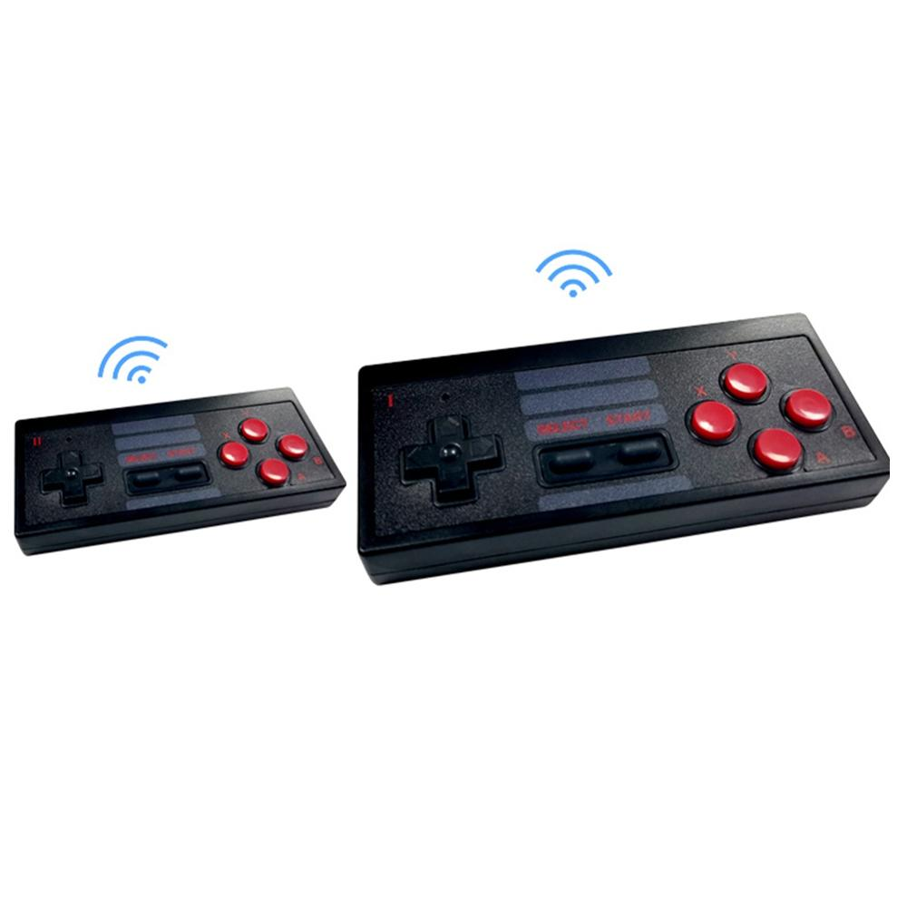 cheapest Classic Family Game Console JY01 Mini Handheld TV Video Game Console Dual Gamepad 2 4G Wireless Controllers w  300 Classic Games