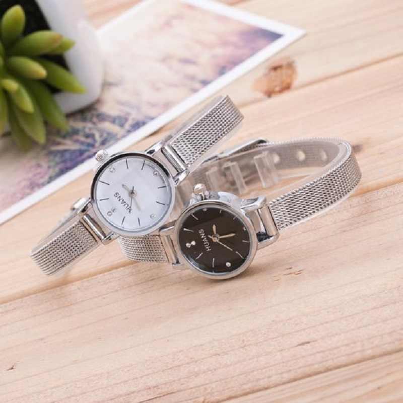 นาฬิกา 2019 ขายร้อนผู้หญิงกันน้ำสแตนเลสสตีลนาฬิกาข้อมือ часы женские reloj mujer