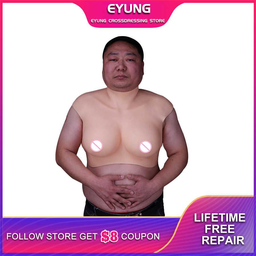 Geeignet Für 130KG Männer Silikon Brust Formen Für Transen Trandsgender Crossdresser Drag Queen Importiert Flüssigkeit Silikon Füllstoff