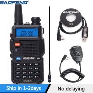 Image 1 - BaoFeng UV 5R Dual Band VHF/UHF136 174Mhz&400 520Mhz Walkie Talkie Two way radio Baofeng Handheld UV5R Ham Portable CB Radio