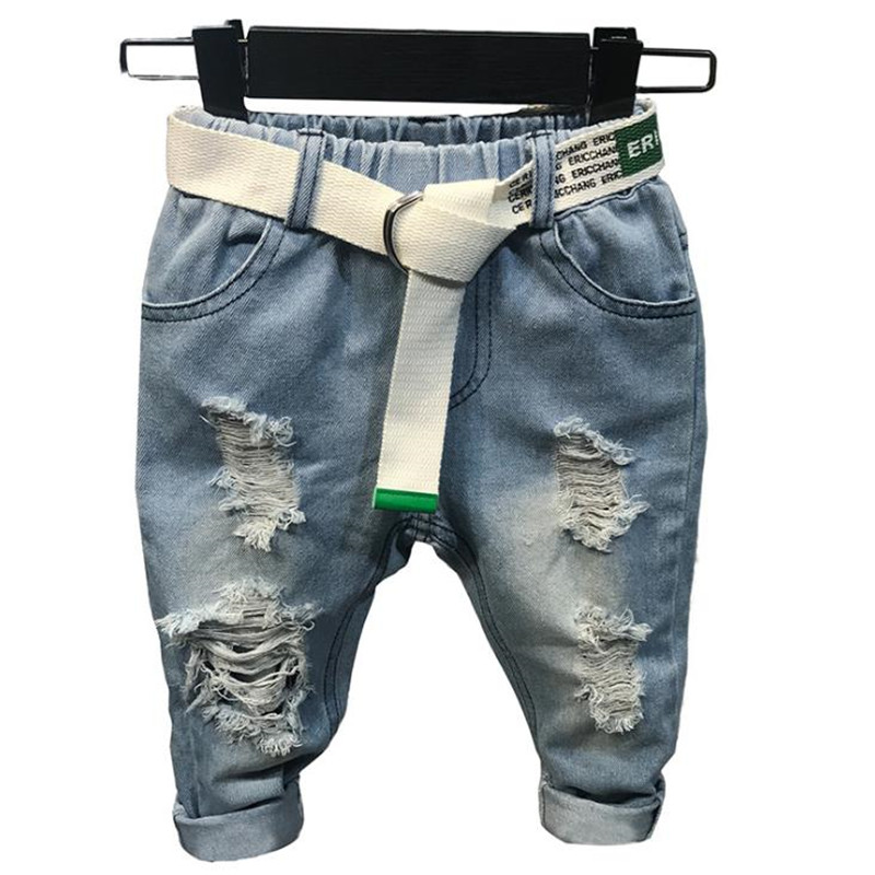 Boys Casual-Style Ripped Jean