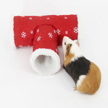 3 пути маленький туннель для домашних животных хомяк морская свинка кролик трубы три канала хомяк игрушки клетки маленькие аксессуары для домашних животных