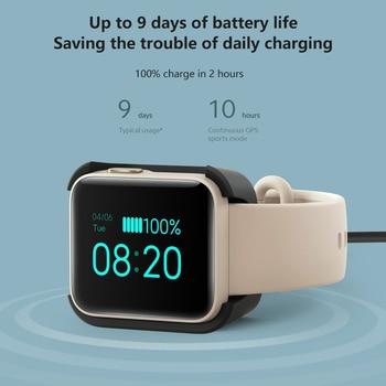 Xiaomi Mi Watch Lite Bluetooth Smart Watch GPS 5ATM Waterproof SmartWatch Fitness Heart Rate Monitor mi band Global Version 5