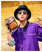 купить Retro Mini Shoulder Bag Cell Phone Bag Lightweight Flap PU Leather Crossbody Little Portable Bag дешево