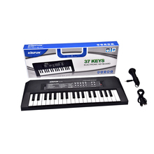 37 Keys USB Digital Music Electronic Keyboard Key Board Electric Piano With Microphone Early Educational Tool Gift for Kids D30