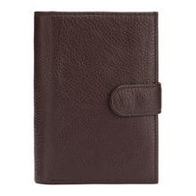 Western Genuine Leather More Card Holder Passpart Men Wallet Vintage Cow Purse