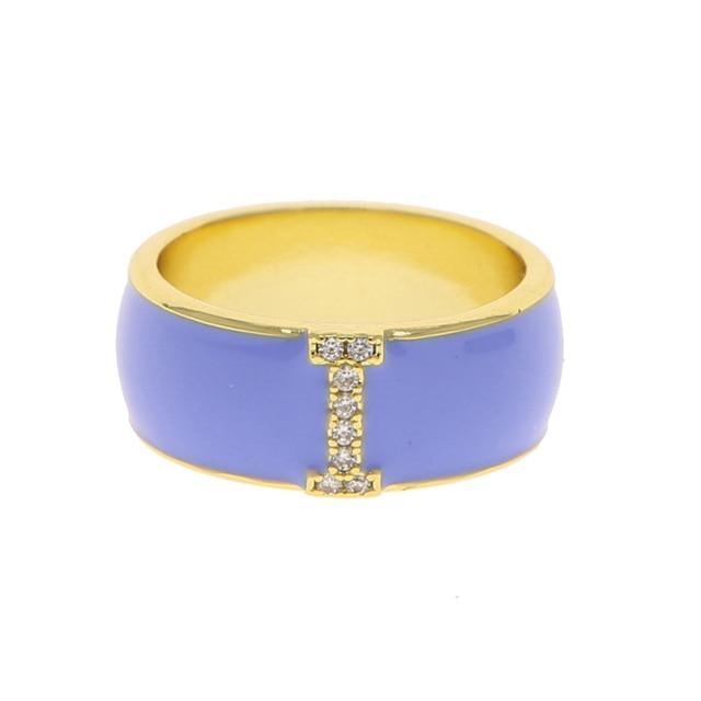 Fluorescent Purple Pearl Resin Ring -Men/'s Ring Neon Purple Pearl Resin Ring Women/'s Ring Neon Purple Pearl Acrylic Resin Ring