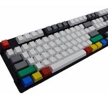 Пустой Толстый PBT 9 клавиш RGBY цвет Keycap OEM высоко Cherry MX переключатели Keycaps для Keycool/NOPPOO/Ducky/filco Keycap