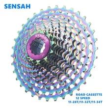 SENSAH-Cassette ultraligero para bicicleta de carretera, 12 velocidades, SLR, 11-32T, 11-34T, 12 velocidades, 11-34 K7, 11V, 11-28T, CNC