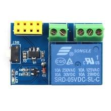 Module de relais WIFI sans fil ESP8266 ESP-01S 5V, commutateur de télécommande de maison intelligente pour application de téléphone Arduino ESP01S